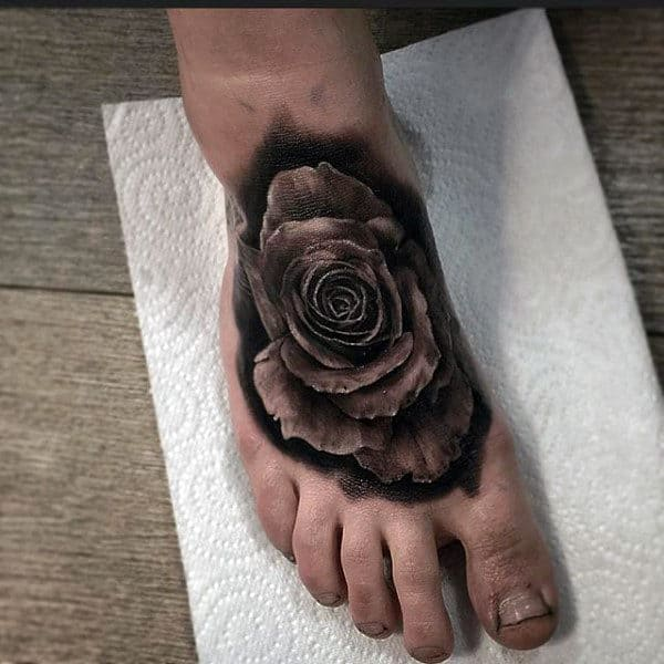 90 Foot Tattoos For Men Step Into Manly Design Ideas Ideas And Designs