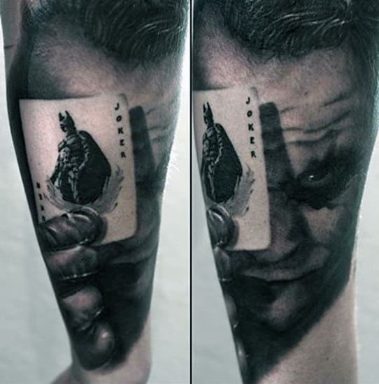 90 Joker Tattoos For Men Iconic Villain Design Ideas Ideas And Designs
