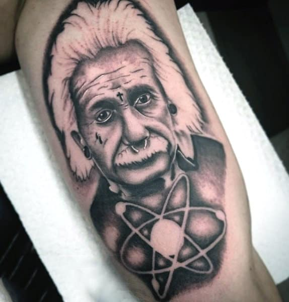 Top 100 Best Science Tattoos For Men Manly Design Ideas Ideas And Designs