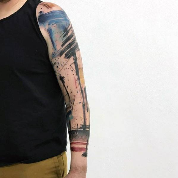 50 Artsy Tattoos For Men Artistic Ink Design Ideas Ideas And Designs