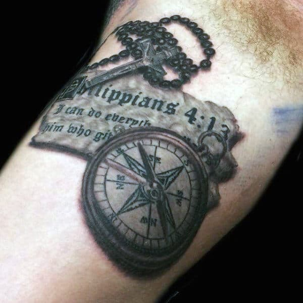 100 Rosary Tattoos For Men Sacred Prayer Ink Designs Ideas And Designs