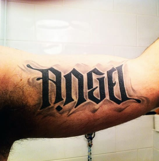 40 Ambigram Tattoos For Men Word Art Designs Ideas And Designs