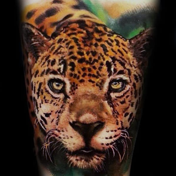 50 Cheetah Tattoos For Men Big Spotted Cat Design Ideas Ideas And Designs