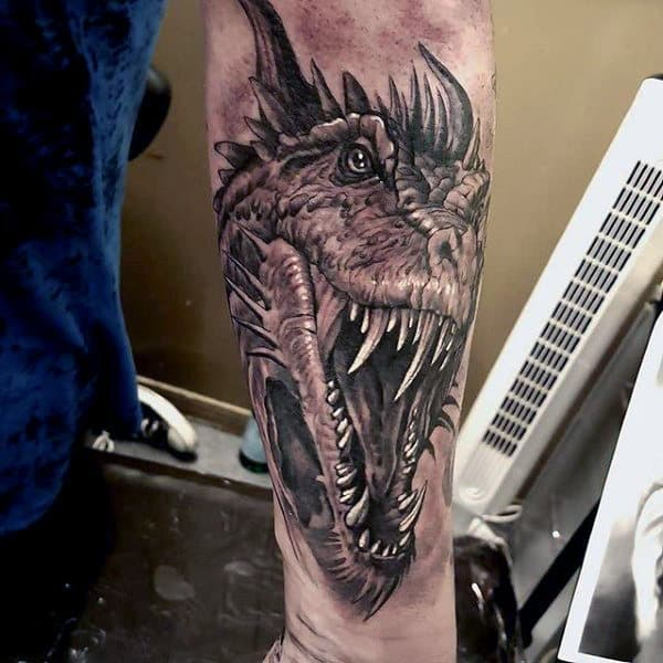 50 Deadly Dragon Tattoos For Men Manly Mythical Monsters Ideas And Designs