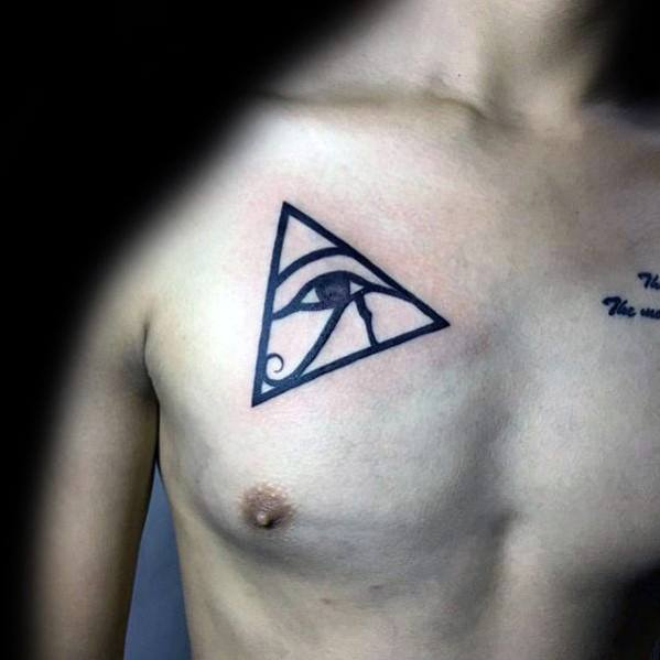 50 Simple Chest Tattoos For Men Manly Upper Body Design Ideas Ideas And Designs
