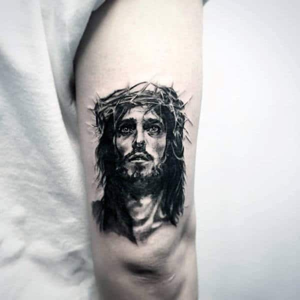 100 Jesus Tattoos For Men Cool Savior Ink Design Ideas Ideas And Designs