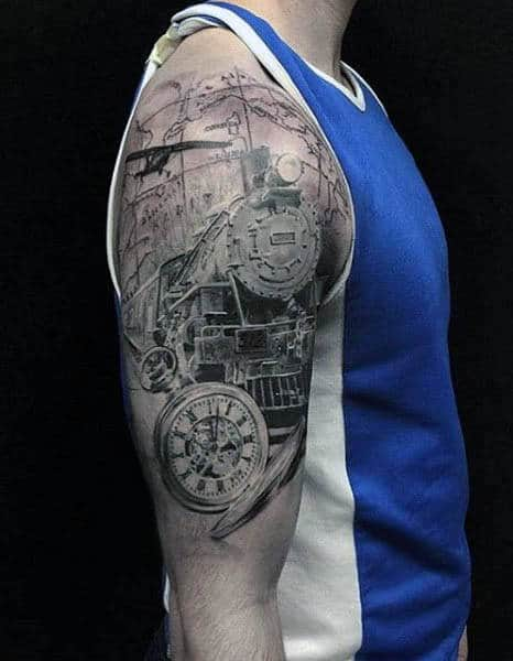 50 Airplane Tattoos For Men Aviation And Flight Ideas Ideas And Designs