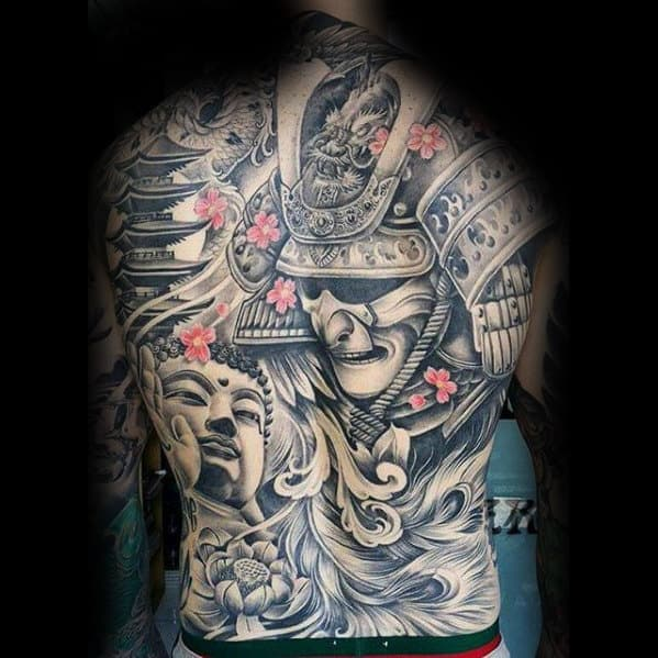 50 Japanese Temple Tattoo Designs For Men Buddhist Ink Ideas Ideas And Designs