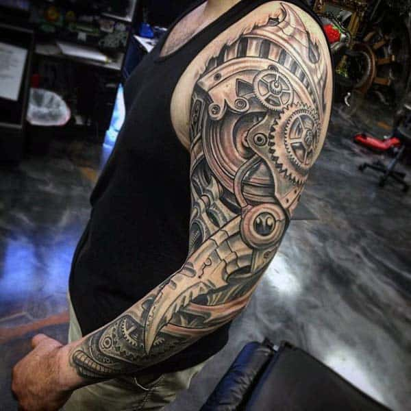 50 Extreme Tattoos For Men Eccentric Ink Design Ideas Ideas And Designs