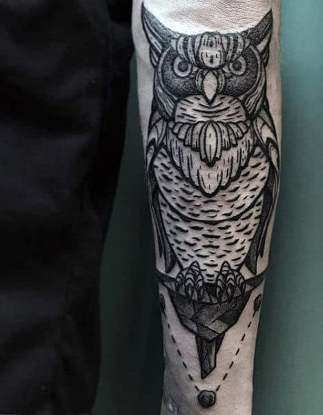 60 Bird Tattoos For Men From Owls To Eagles Ideas And Designs