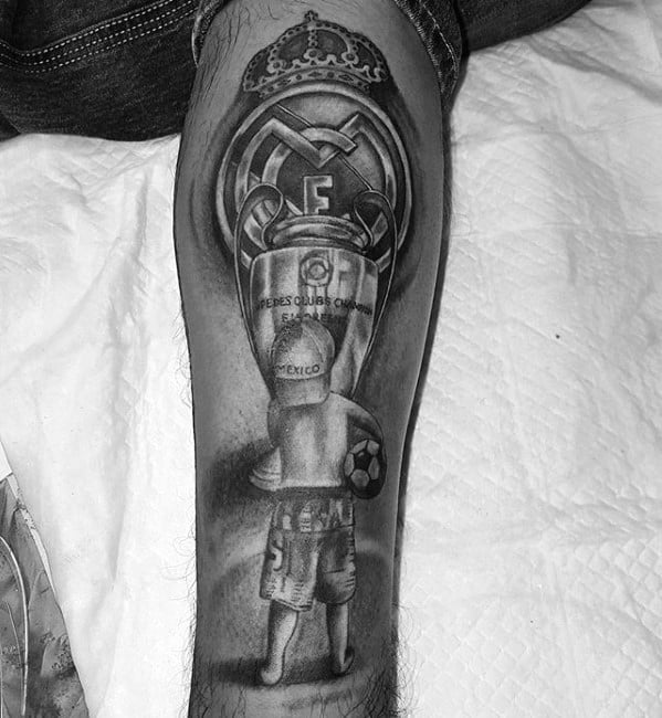60 Real Madrid Tattoo Designs For Men Soccer Ink Ideas Ideas And Designs