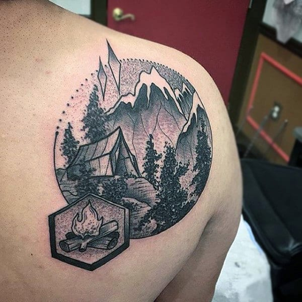100 Nature Tattoos For Men Deep Great Outdoor Designs Ideas And Designs