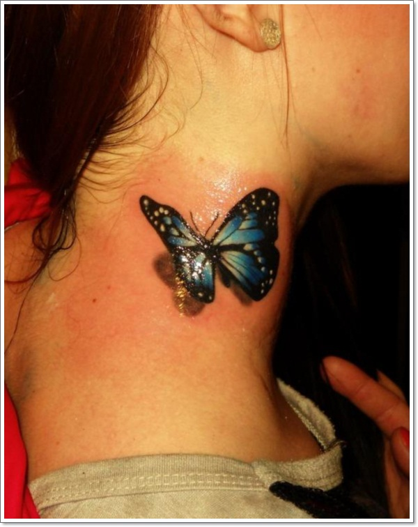 3D Butterfly Tattoo Ideas And Designs