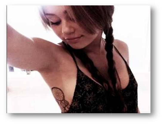 Noor Fashion House Miley Cyrus Tattoo Ideas And Designs