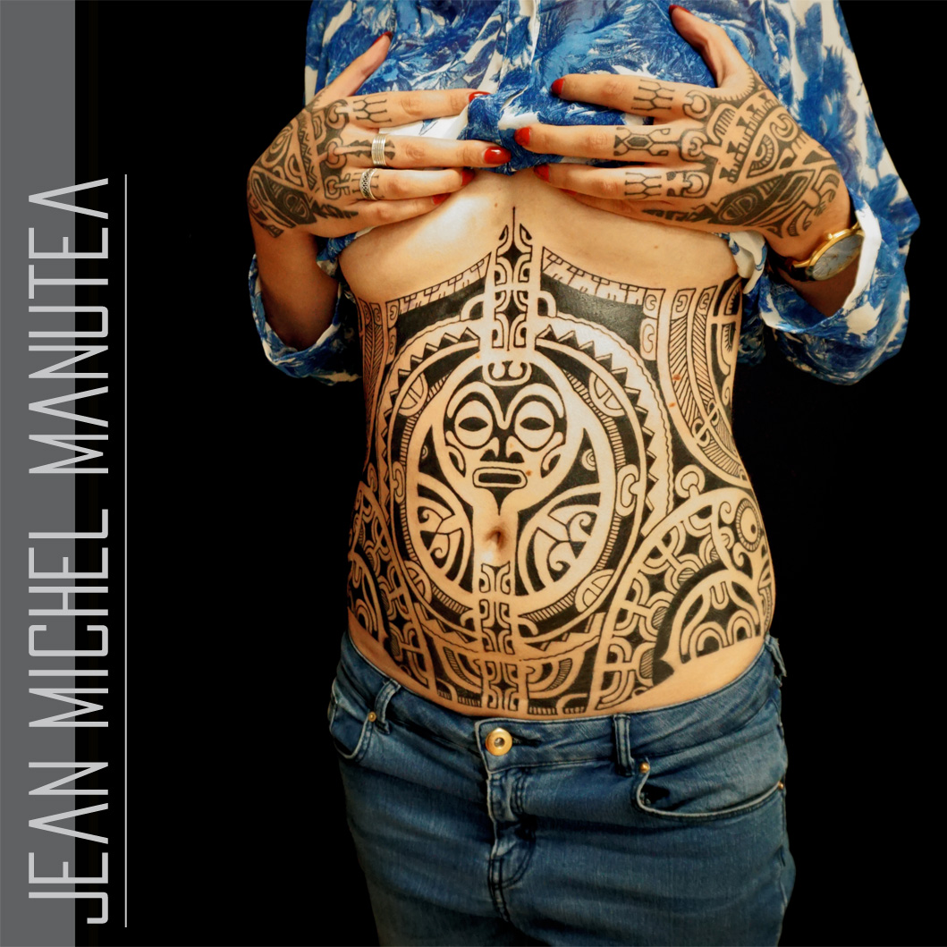 Tatouage Polynesien Polynesian Tattoo Tribal Tatau Tahiti Ideas And Designs