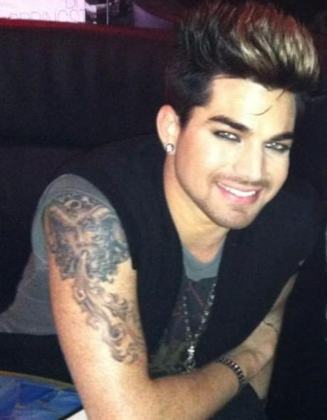 Adam Lambert Help Adam Lambert In Nyc Last Night Tattoo Ideas And Designs