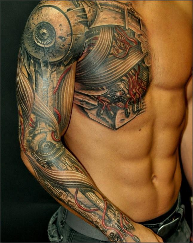 Tattoo Art Cyborg Tattoos Photos Ideas And Designs