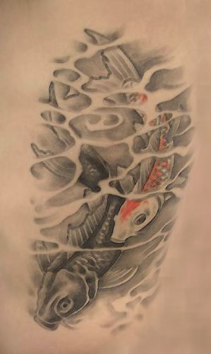 Firatattooart 3D Koi Balığı Dövmesi Ideas And Designs