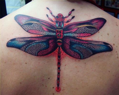 Cool And Beautiful 3D Dragonfly Tattoo Tattoos Photo Gallery Ideas And Designs