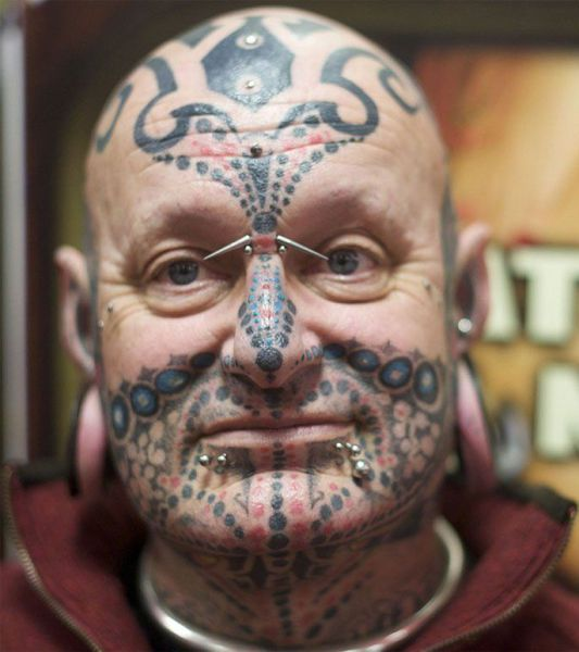 My Funny Bizarre Face Tattoos Pictures Ideas And Designs
