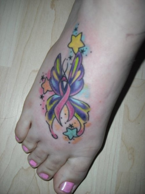 Br**St Cancer Tattoos Women Fashion And Lifestyles Ideas And Designs