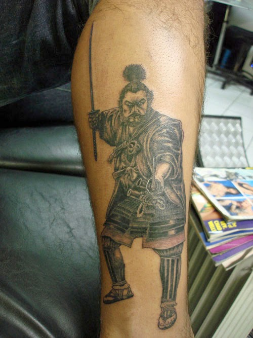 Tattoo Gallery For Men Samurai Action Tattoo Ideas And Designs