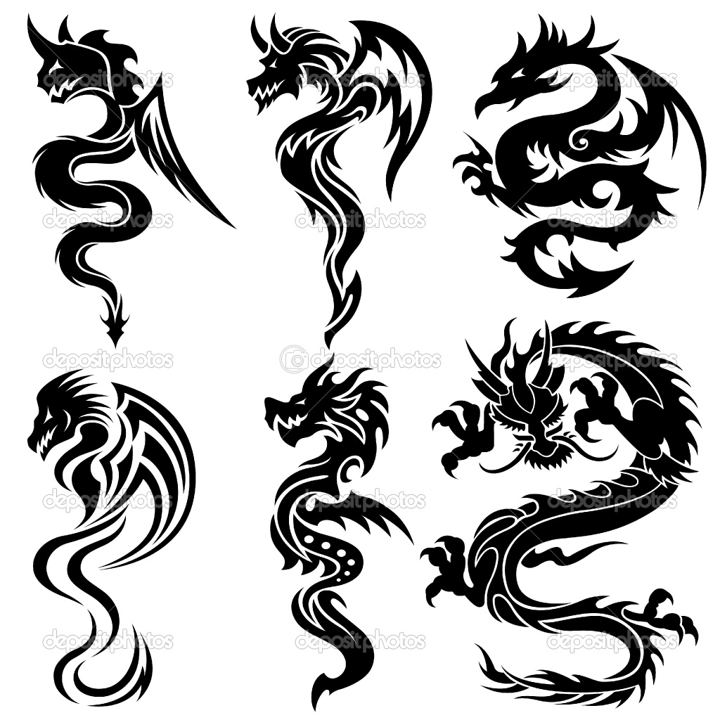 Tattoo In Gallery Tribal Chinese Dragon Tattoos Ideas And Designs