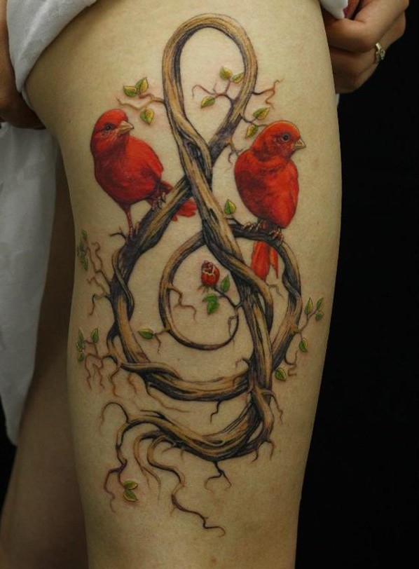 25 Sexiest Thigh Tattoos For Women Ideas And Designs