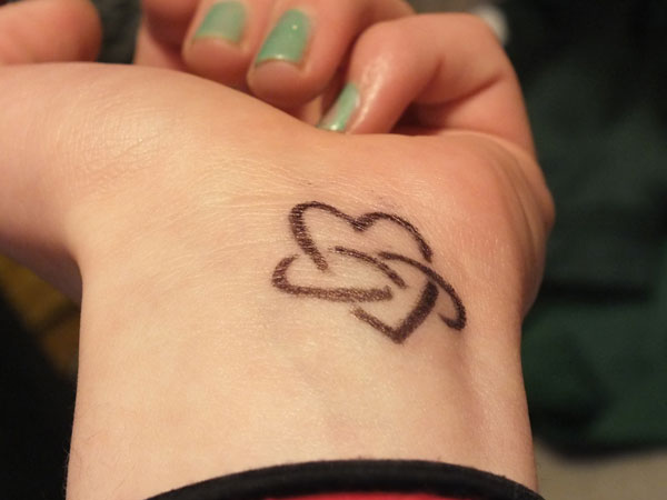 25 Fascinating Infinity Love Tattoo Slodive Ideas And Designs