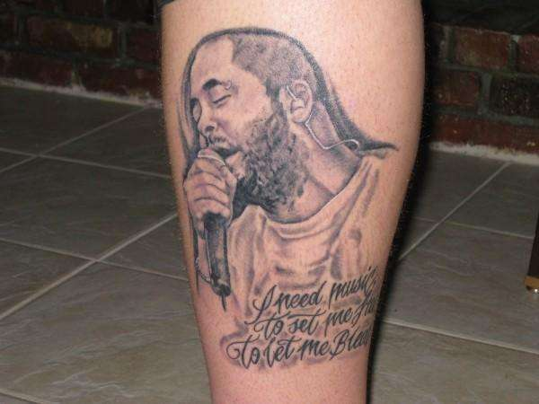 Aaron Lewis Portrait Tattoo Ideas And Designs