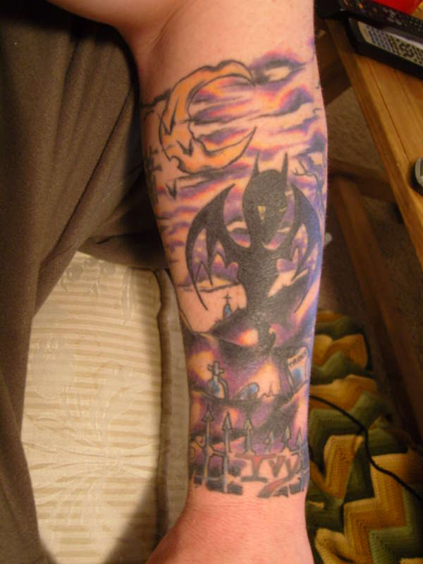Alan Forbes Afi With A Bit To Go Tattoo Ideas And Designs