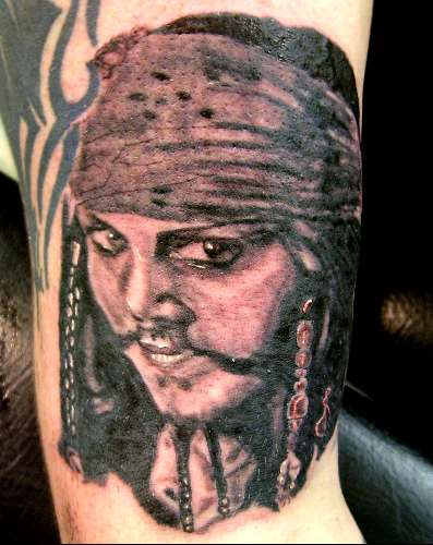 Captain Jack Tattoo Ideas And Designs
