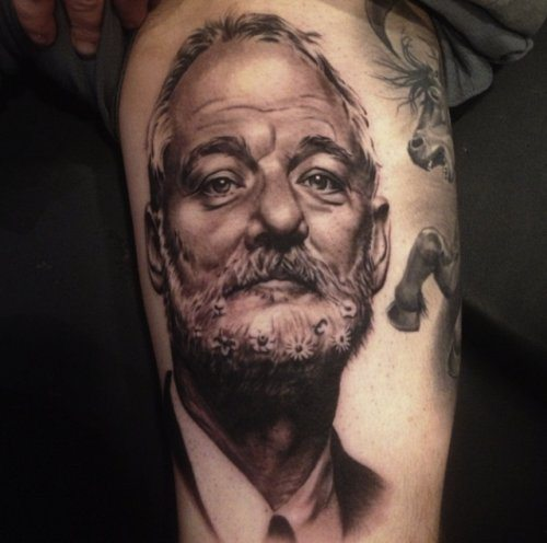 15 Tattoos Of Bill Murray Because Obviously Ideas And Designs