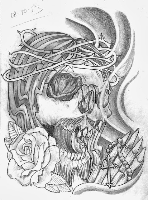 Tattoo Sketch A Day Religious October 8Th 14Th Ideas And Designs