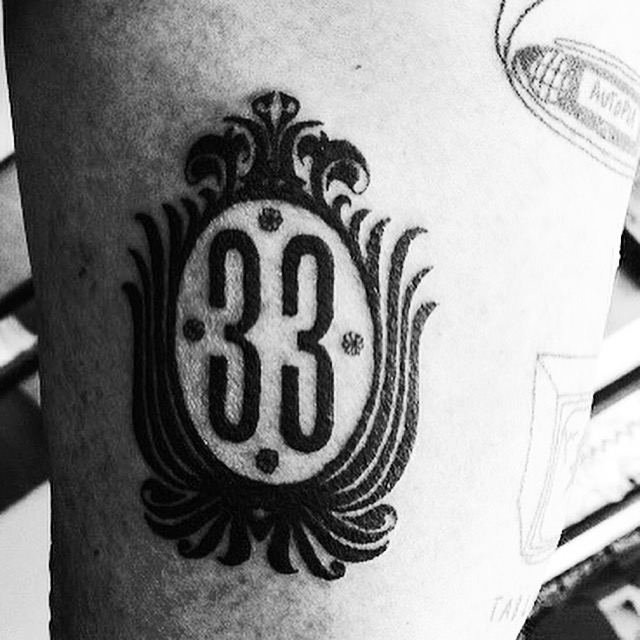 Good Story News A Disneyland Club 33 Tattoo By Sean From Ideas And Designs