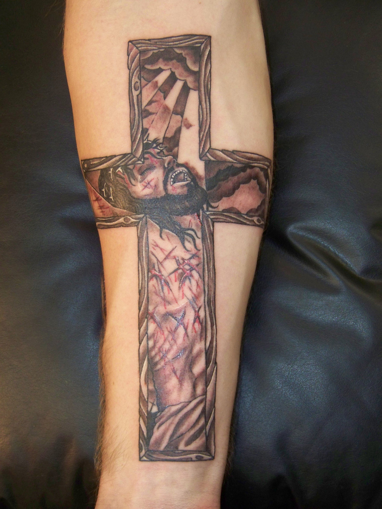 Cross Tattoos On Forearm Tattoos Of Crosses Ideas And Designs