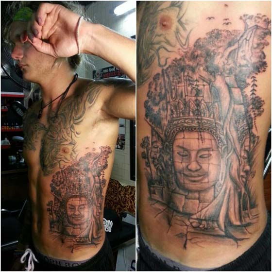 Psp Group Cambodia Bayon Khmer Tattoo Ideas And Designs