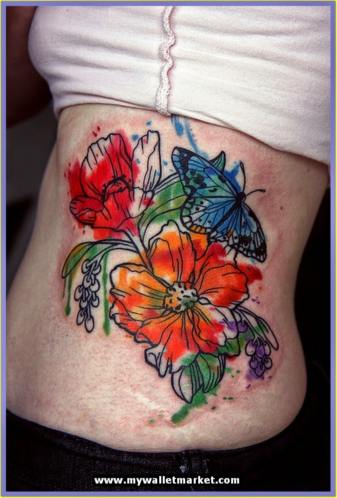Awesome Tattoos Designs Ideas For Men And Women Gorgeous Abstract Flower Tattoos Pictures For Girls Ideas And Designs