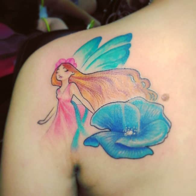 148 Most Attractive Fairy Tattoos Meanings August 2019 Ideas And Designs