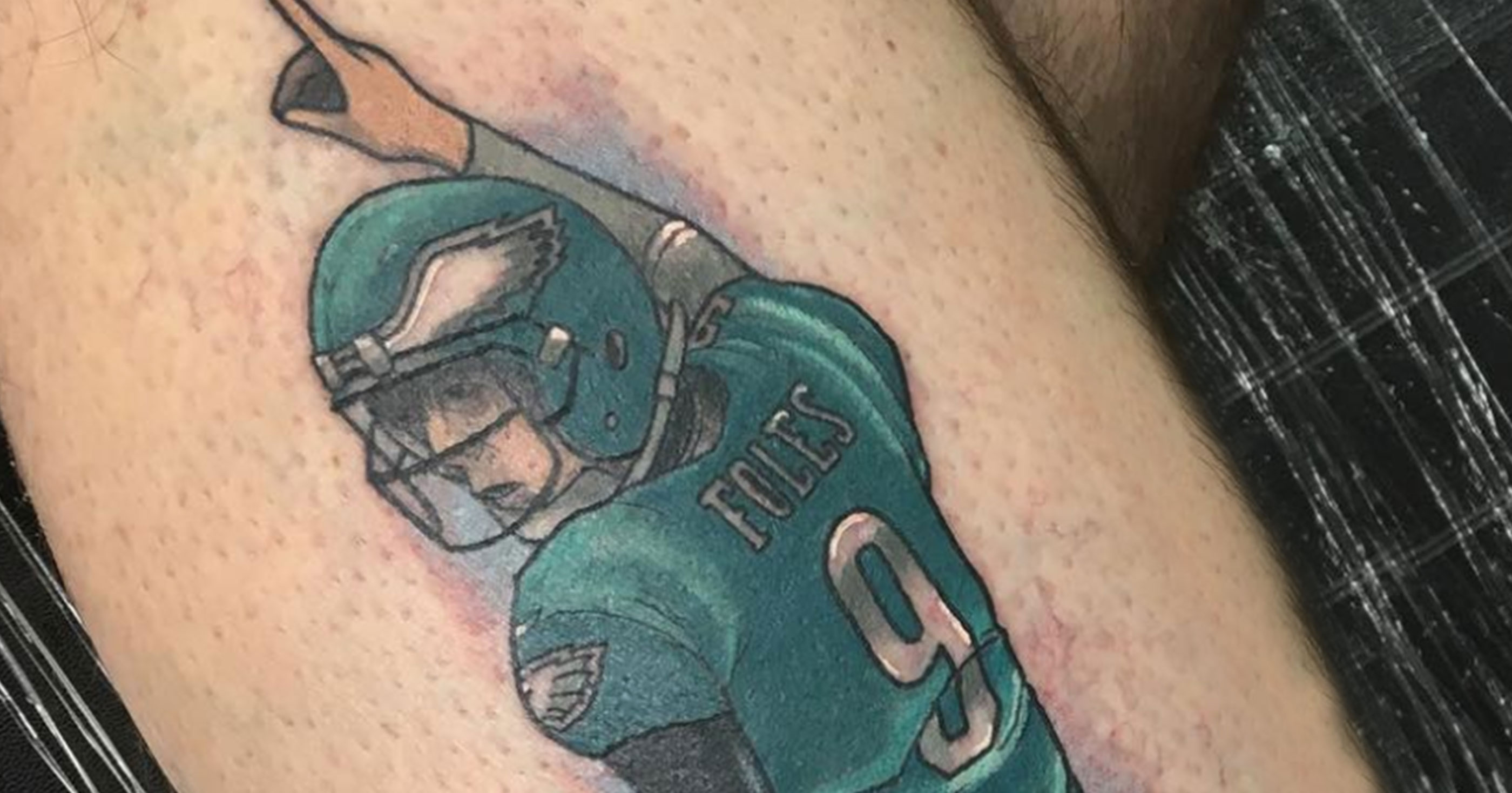 Eagles Fan Gets The Most Suspect Tattoo You Ll Ever See Of Ideas And Designs
