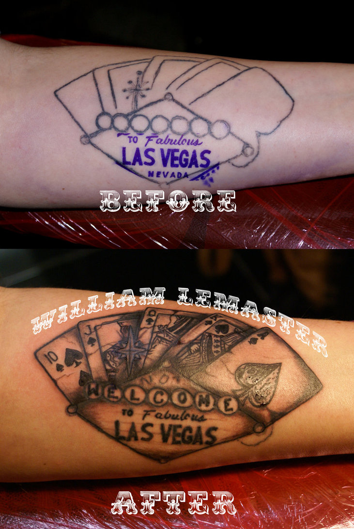 Tattoo Fix Not Welcome To Las Vegas By Lemaster99705 D4V29Xe Ideas And Designs