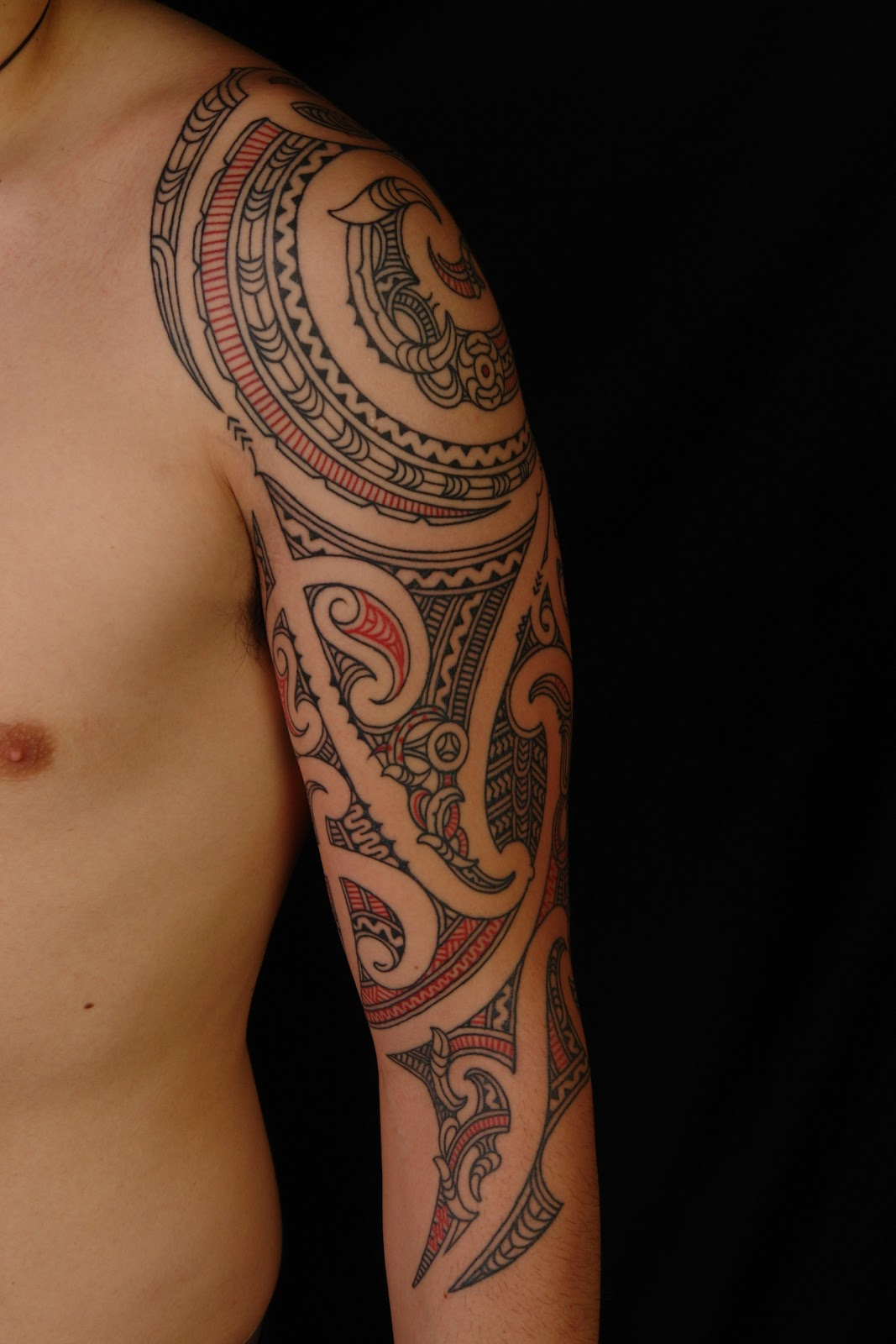 Maori Polynesian Tattoo Maori 3 4 Sleeve Ideas And Designs