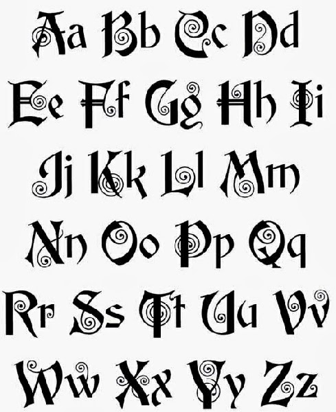 Tattoos Letters Ideas And Designs