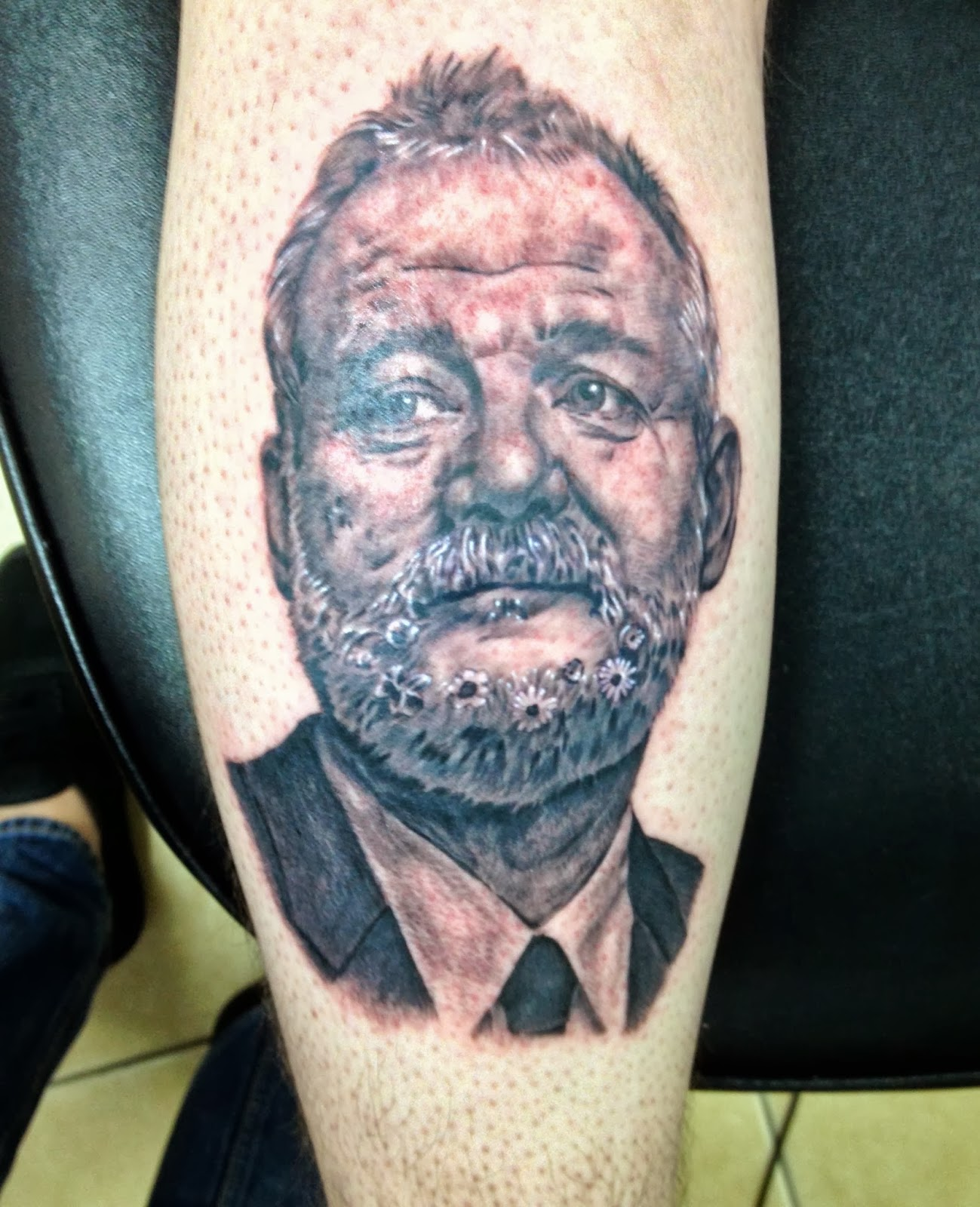 Daniel Nguyen Tattoo Bill Murray Portrait Ideas And Designs