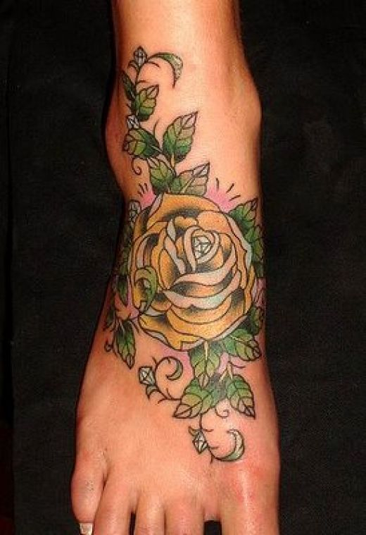 All About Fashion Collection Flower Tattoos Ideas And Designs