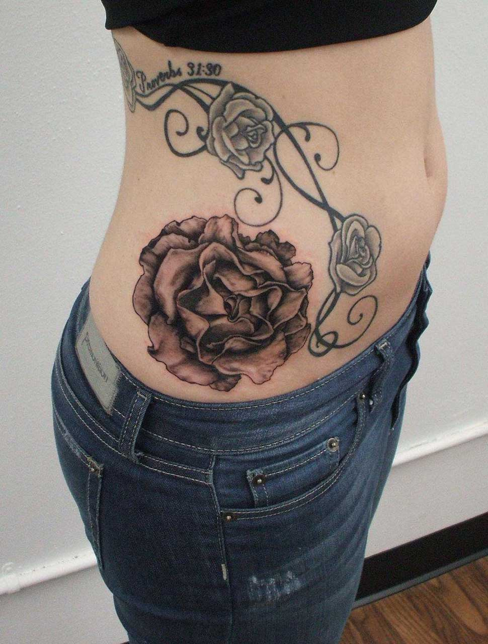 Latest Tattoos Designs Rose Tattoo Designs For Girls Ideas And Designs