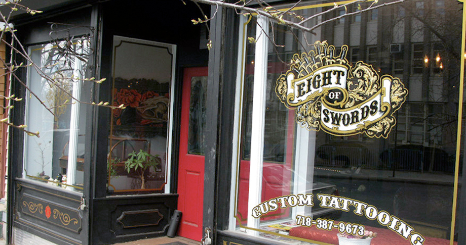 Eight Of Swords Tattoo Parlour Retail Boutique And Art Ideas And Designs