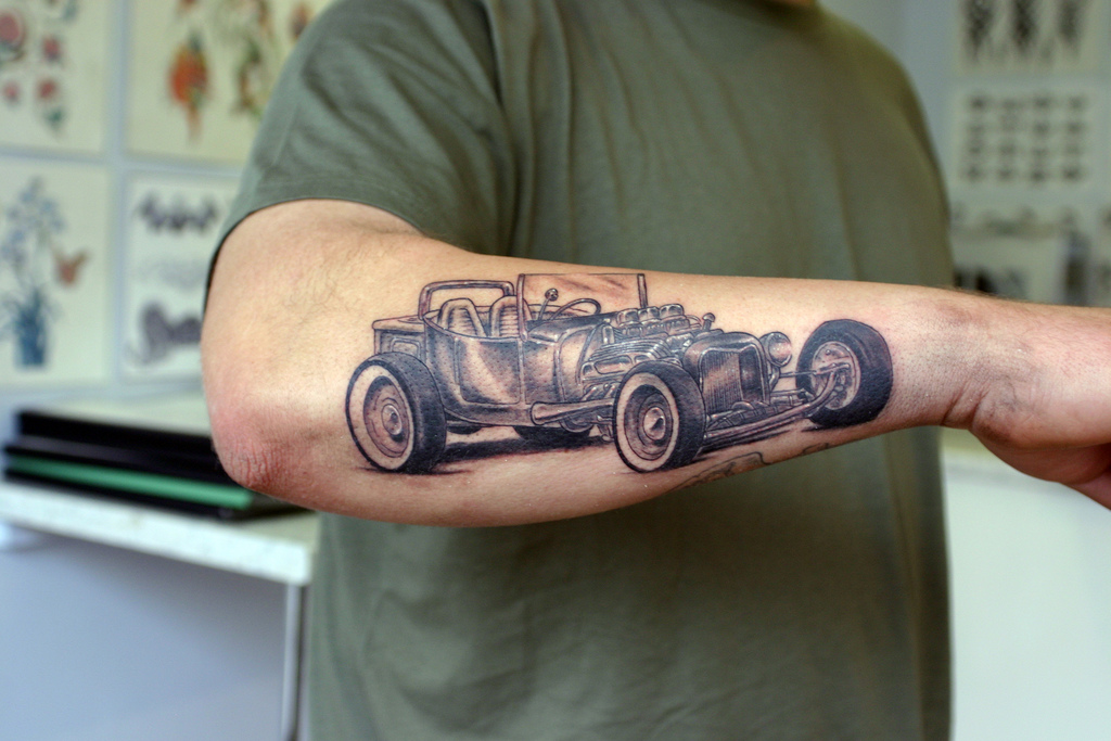Car Tattoos Ideas And Designs