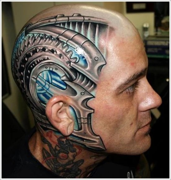 35 Bio Mechanical Tattoo Designs Ideas And Designs