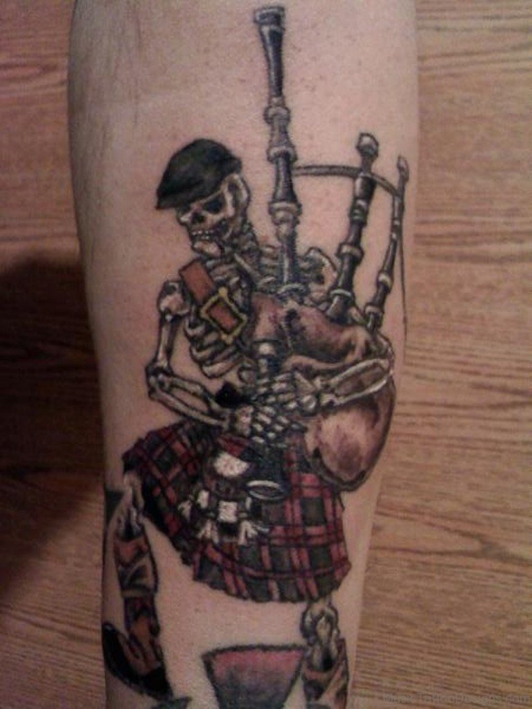 49 Bagpipes Tattoos Ideas And Designs